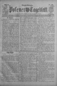 Posener Tageblatt 1908.10.21 Jg.47 Nr495