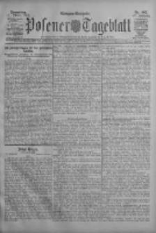 Posener Tageblatt 1908.10.22 Jg.47 Nr497