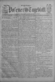 Posener Tageblatt 1908.10.22 Jg.47 Nr498