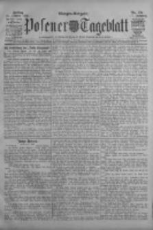 Posener Tageblatt 1908.10.30 Jg.47 Nr511