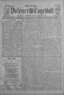 Posener Tageblatt 1908.11.03 Jg.47 Nr517
