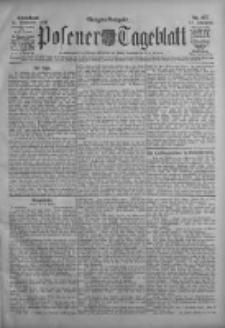 Posener Tageblatt 1908.11.14 Jg.47 Nr537