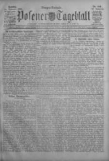 Posener Tageblatt 1908.11.22 Jg.47 Nr549
