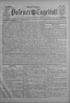 Posener Tageblatt 1908.12.19 Jg.47 Nr595