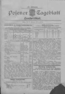 Posener Tageblatt. Handelsblatt 1908.02.11 Jg.47