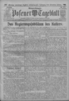Posener Tageblatt 1913.06.17 Jg.52 Nr277