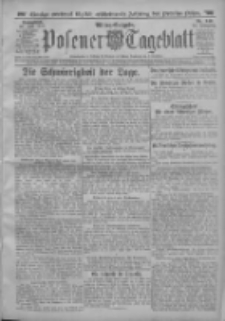 Posener Tageblatt 1913.07.26 Jg.52 Nr346