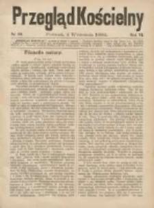 Przegląd Kościelny 1884.09.04 R.6 Nr10