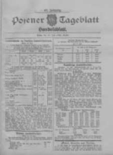 Posener Tageblatt. Handelsblatt 1908.07.16 Jg.47