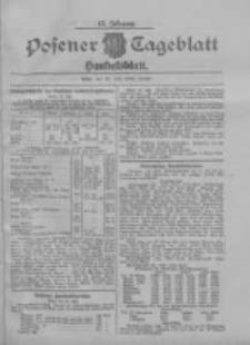 Posener Tageblatt. Handelsblatt 1908.07.25 Jg.47