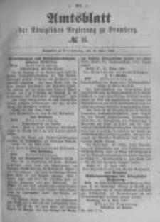 Amtsblatt der Königlichen Preussischen Regierung zu Bromberg. 1889.04.18 No.16
