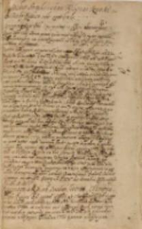 Marchio Brand[enburgensis] Joachimus Fridericus Regiae Maiestati [Sigismundo III] de feudo Prussico sibi concedendo, Kolonia nad Szprawą 24.12.1605