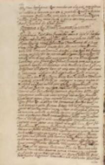 Responsum a Regia Maiestate [Sigismundo III] Turcarum imperatori [Ahmedo I], Kraków 27.06.1606
