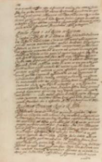 Responsum Persarum Regi a RMtte [Sigismundo III], Kraków 15.09.1605