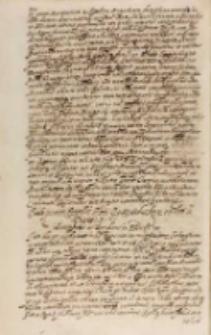 Paulo Quinto Pontifici Maximo Sigismundus [III] rex eodem in negotio, Kraków 18.01.1607