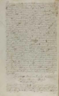 Ad Summum Pontificem Paulum Quintum [Sigismundus III], Kraków 20.07.1608?
