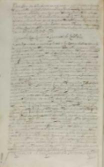 Sigismundu Rex Rudolpho [II] imperatori de rebellibus, Kraków 30.07.1607