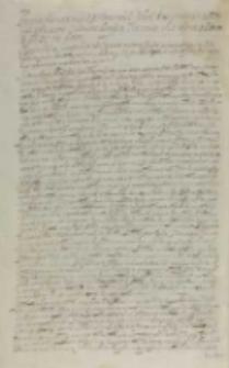 Instructio nomine RM [Sigismundi III [...] Felici Koss secretario Mttis suae ad maiores ciuitates Prussiae, Kraków 30.09.1607 data