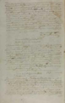 Henricus Firlei vicecancellarius Regni Constantiae Reginae, Warszawa 06.04.1613
