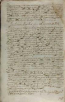 Archiducis Matthiae responsum ad legationem M. R. [Sigismundi III], datum in castris nostris Dubetus Bohemorum positis 14.06.1608