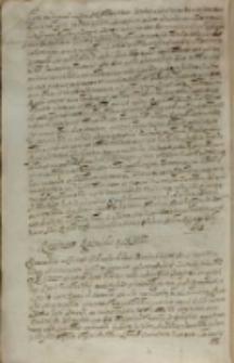 Responsum Rigensibus a SR Mtte [Sigismundo III], Kraków 05.09.1608