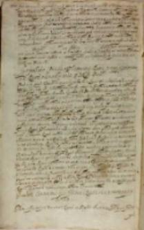Eiusdem contractus per presentes Regni senatores approbatio, Kraków VII [1608]