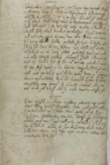 [Fragment listu Stanisława Żółkiewskiego do króla Zygmunta III], [ok. 1606/1612?]