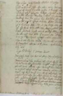 Lyst od [...] hetmana koronnego [Stanisława Żółkiewskiego], Żółkiew 23.07.1616