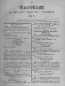 Amtsblatt der Königlichen Preussischen Regierung zu Bromberg. 1890.02.21 No.8