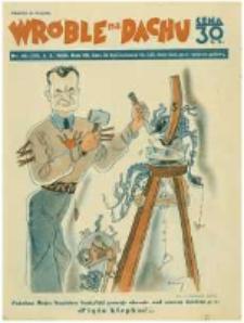 Wróble na Dachu: tygodnik satyryczno-humorystyczny. 1936.10.04 R.7 nr40