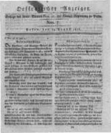 Oeffentlicher Anzeiger. 1816.08.13 Nro.7