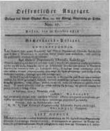 Oeffentlicher Anzeiger. 1816.10.22 Nro.17
