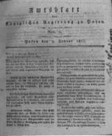 Amtsblatt der Königlichen Regierung zu Posen. 1817.01.07 Nro.1