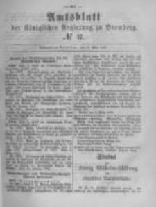 Amtsblatt der Königlichen Preussischen Regierung zu Bromberg. 1882.03.17 No.11