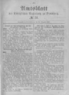 Amtsblatt der Königlichen Preussischen Regierung zu Bromberg. 1882.12.29 No.52
