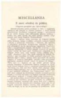 Z ziemi włoskiej do polskiej (Fragment pamiętnika gen. Dąbrowskiego)