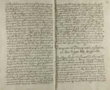 Procerum ex Transyluania profugorum ad Sacram Regiam Mttm [Sigismundum III] supplicatio, z obozu nad Prutem. 11.09.1600
