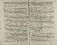 Carolus Sudermaniae dux Joanni Zamoiski Regni cancellario et exercituum supremo duci, Crosholini 17.02.1602