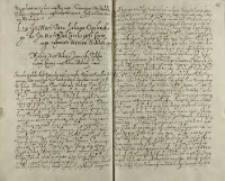 List jeo msci pana Lukasza Opalińskiego do jeo msci podcanclerzego coronnego [Piotra Tylickiego] w sprawie seimiku srzedzkiego, Środa ok. 11.06.1602