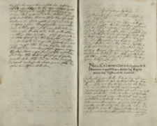 Do Andrzeja Opalińskiego NN, Warszawa 30.08.1599
