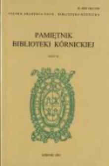 Przebieg procesu polsko - krzyżackiego z 1339 roku. Pamiętnik Biblioteki Kórnickiej Z. 23.