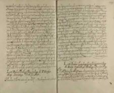 List Xiędza Lipskiego canonika gnieźnieńskiego do Xiędza [Andrzeja] Opalińskiego biskupa poznańskiego, [ok. 1608]
