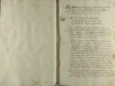 Respons na artykuły vmoderowane y podane krolowy Jeo Mczi [Zygmuntowi III] pod Sendomirzem na rokoszu Anno Domini 1606 die Mensis