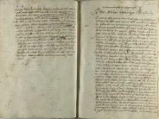Zygmunt Myszkowski do Mikołaja Zebrzydowskiego, Pinczów 24.11.1606