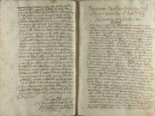 Przemowa Pana [Przecława] Lanckoronskiego posła od rycerstwa sędomirskiego do krola [Zygmunta III], 1606