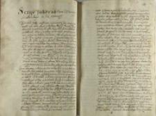 Script podany od Pana woiewody krakowskiego [Mikołaja Zebrzydowskiego] in vim testamenti
