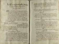 List o artykułach synodu lowickiego y odpor na nie z Piotrkowa 07 nowego lata 1607