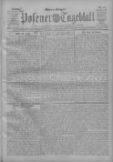Posener Tageblatt 1909.01.17 Jg.48 Nr27