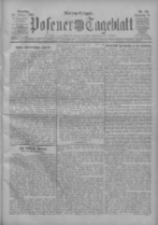 Posener Tageblatt 1909.01.19 Jg.48 Nr29