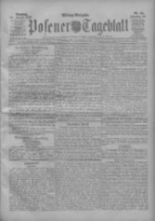 Posener Tageblatt 1909.01.26 Jg.48 Nr42